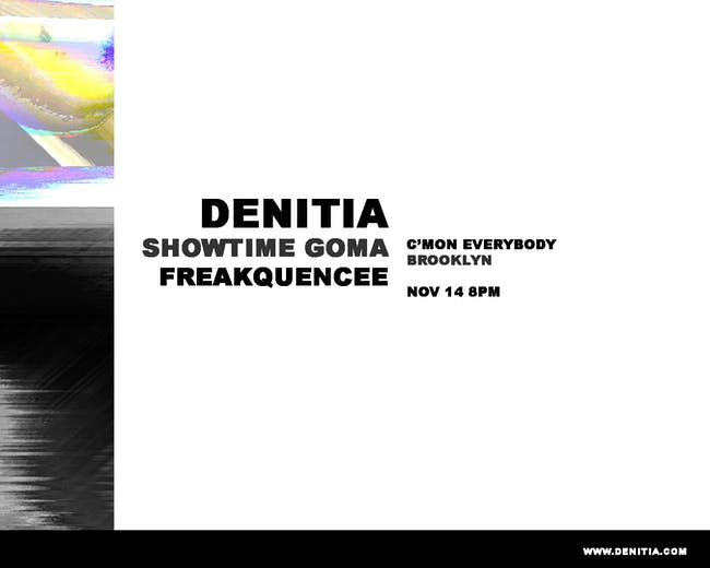 Denitia *residency* with Freakquencee and Showtime Goma