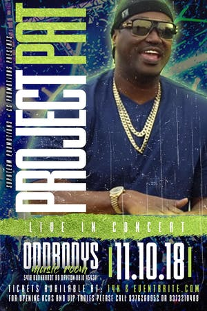 PROJECT PAT LIVE IN CONCERT