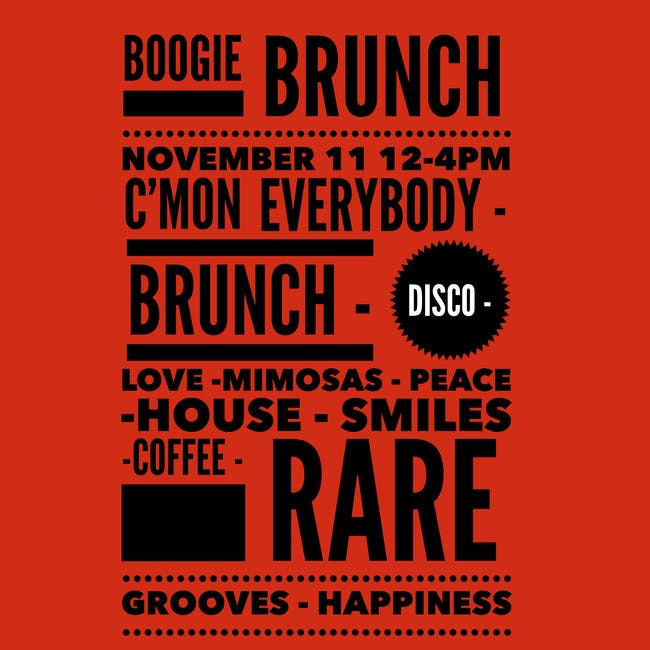 Boogie Brunch