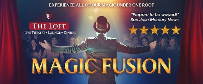 Magic Fusion Starring Robert Hall