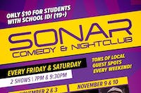SONAR Comedy SATURDAY NOVEMBER 24th - 7pm Show - Donovan Deschner & Carl Turnbull