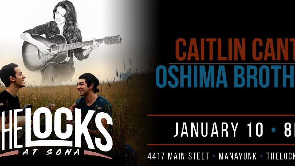 Caitlin Canty with special guest The Oshima Brothers