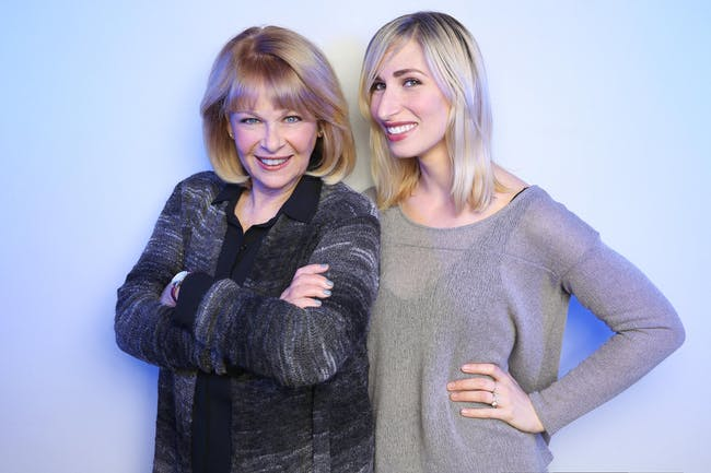 Ilene Graff and Nikka Graff Lanzarone: Together Again For The First Time