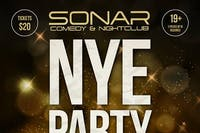 NEW YEARS EVE PARTY AT SONAR, DECEMBER 31ST, DOORS 9PM!