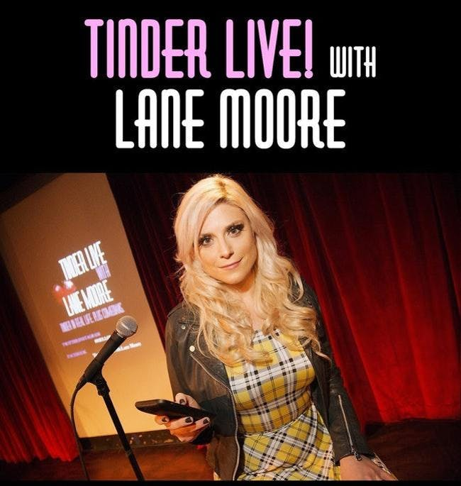 Tinder Live! with Lane Moore: 5th Anniversary Show