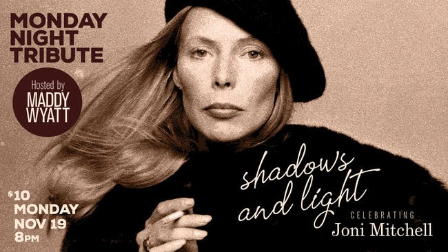 Shadows and Light: Celebrating Joni Mitchell