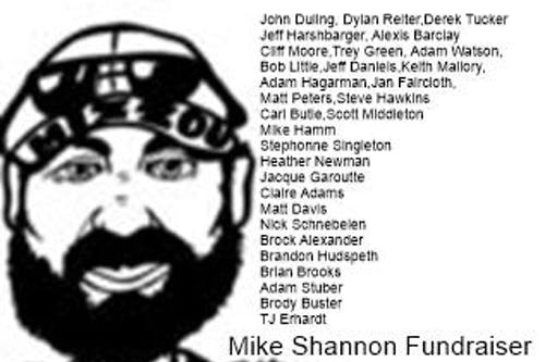 "Michael ""Mike"" Shannon Fundraiser show with 20 great local Artists"
