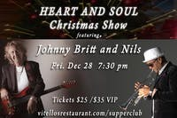 """Heart and Soul"" Christmas Show featuring Johnny Britt and Nils"