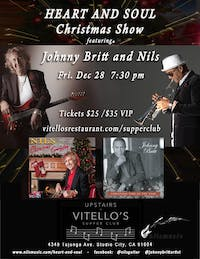"""""""Heart and Soul"""" Christmas Show featuring Johnny Britt and Nils"""