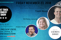 Cochrane Rockies U16A Fundraiser - Comedy Night