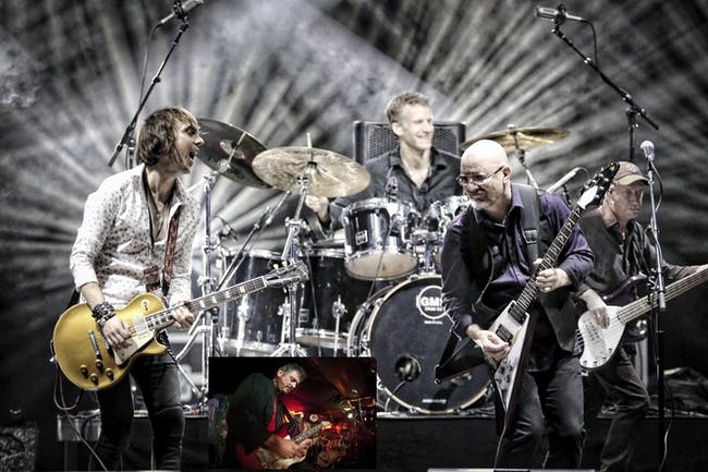 Wishbone Ash with Fast Johnny Ricker