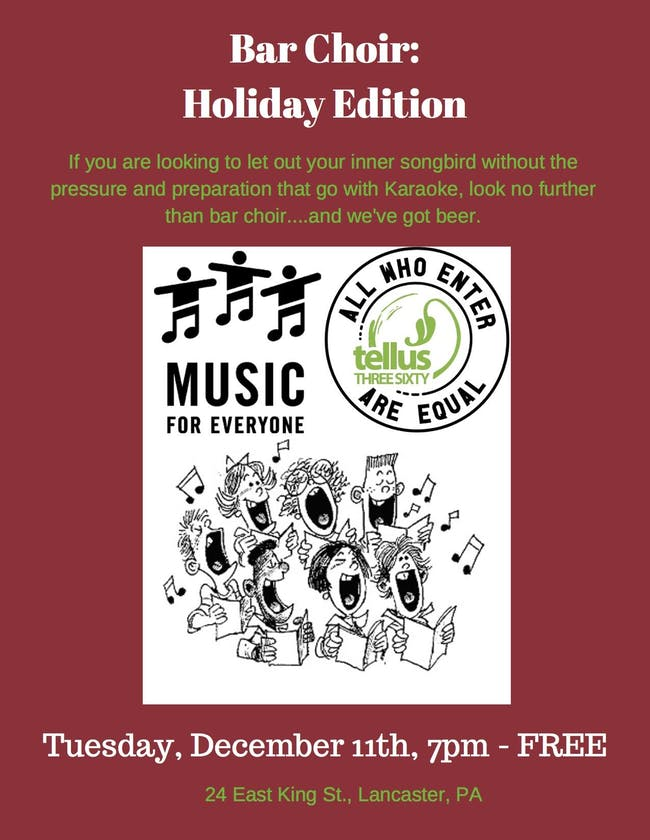 MFE 360 Bar Choir: Holiday Edition