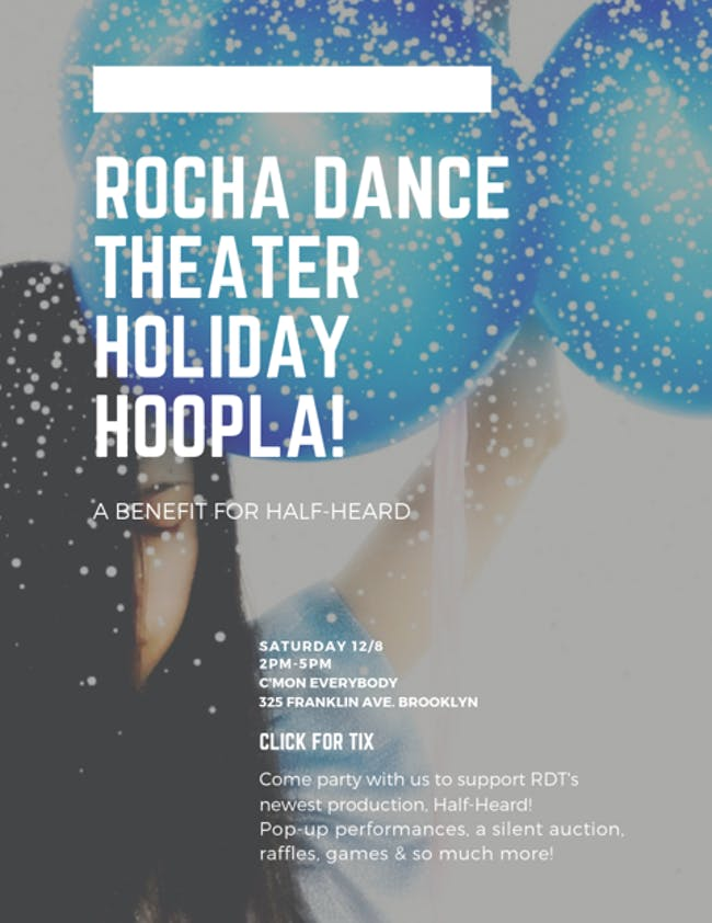 Rocha Dance Theater Holiday Hoopla