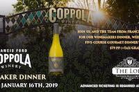 Coppola Wine Dinner