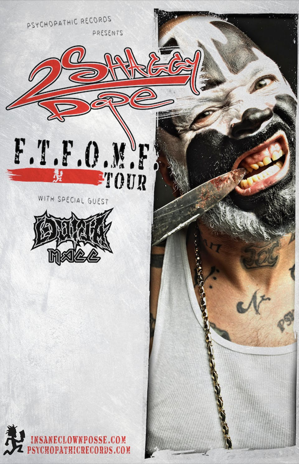 Insane Clown Posse's SHAGGY 2 DOPE with special guests Ouija Macc and more