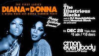 Diana vs  Donna: A Diana Ross & Donna Summer Party
