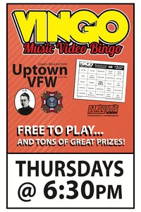 WILD TURKEY VINGO: Music Video Bingo. Watch & Play!