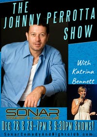 The Johnny Perrotta Comedy Show at SONAR - SATURDAY DECEMBER 29 - 9:30pm Show