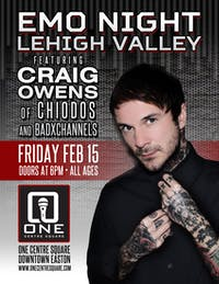 Emo Night Lehigh Valley Ft. Craig Owens