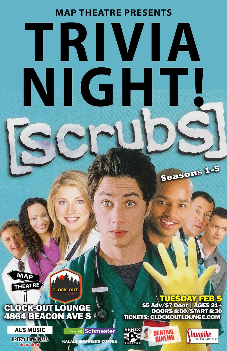 Scrubs Trivia Night (S:1-5)