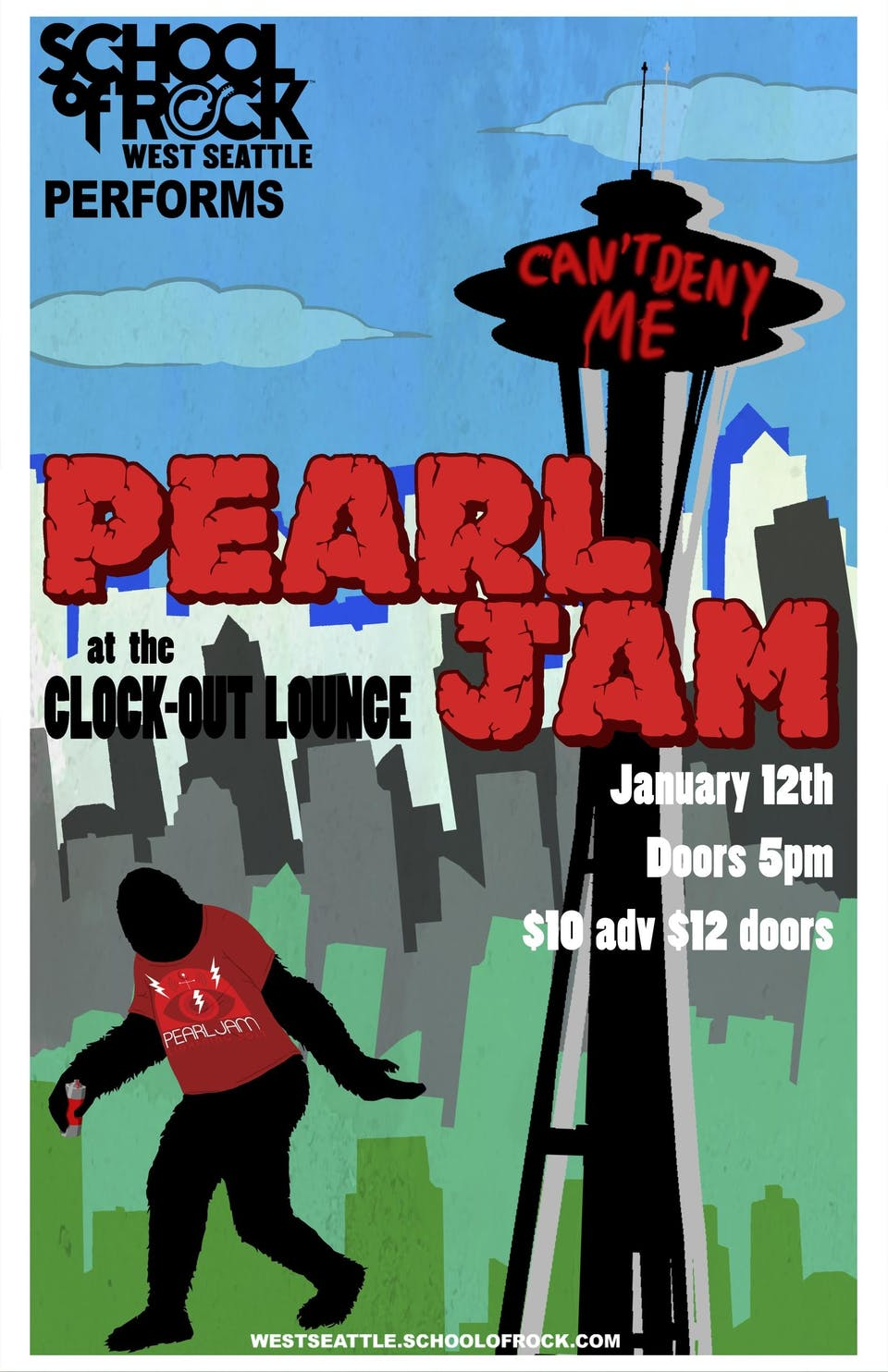 School of Rock West Seattle performs Pearl Jam