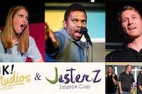 New Years Eve Improv Comedy Show w/ JK Studios: Stacey, Natalie & Jason