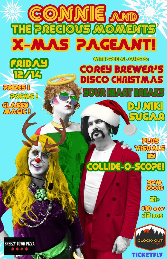 Connie and The Precious Moments X-Mas Pageant