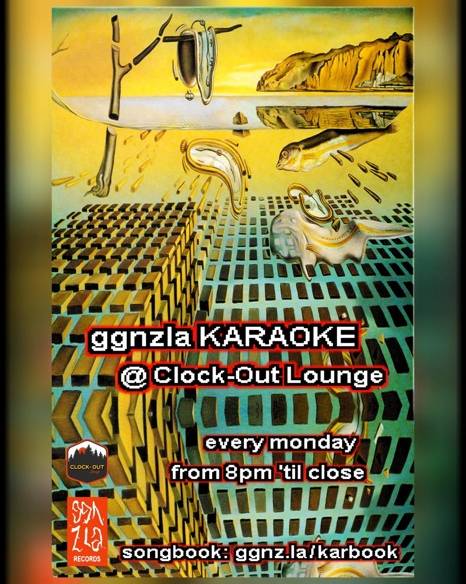 GGNZLA Karaoke, 1/28/2019