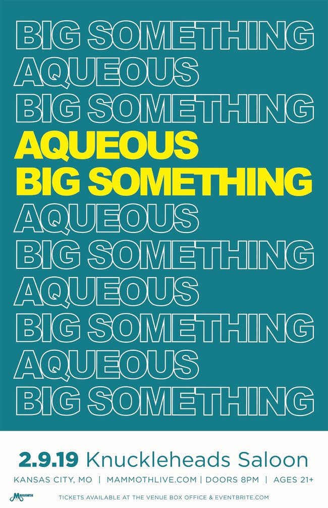 Big Something with Aqueous
