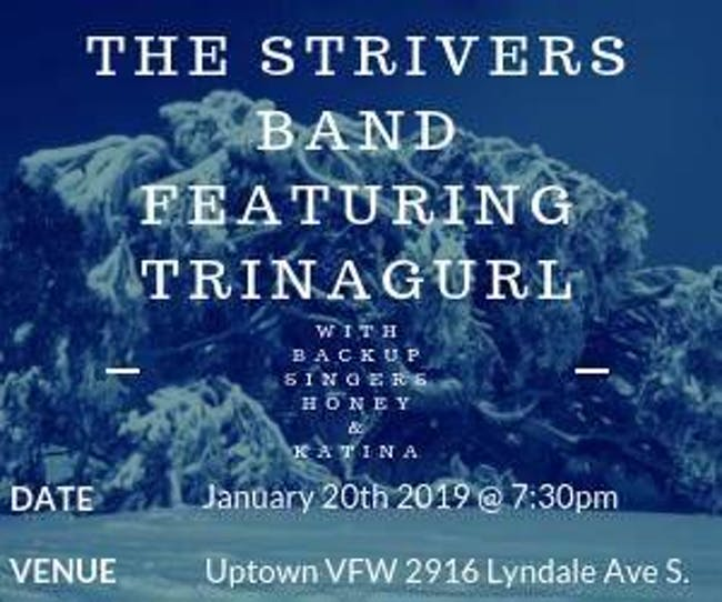 The Strivers Band Featuring Trinagurl with Honey & Katina