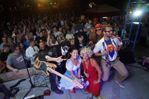 Sellout (Dance Band) Saloon stage