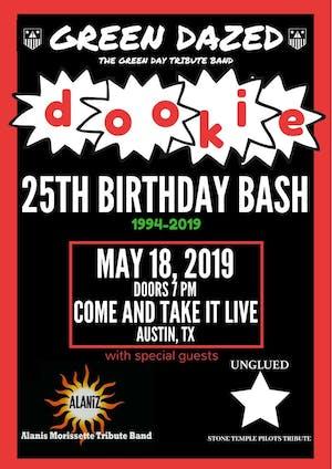 GREEN DAZED ('Dookie' 25th Birthday Bash)