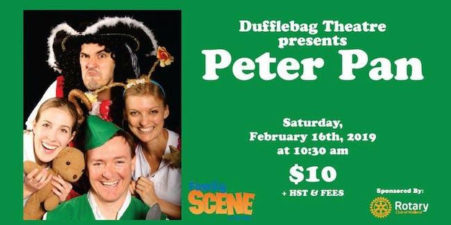 Family Scene: Dufflebag Theatre in Peter Pan