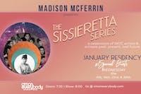 Madison McFerrin presents: The Sissieretta Series