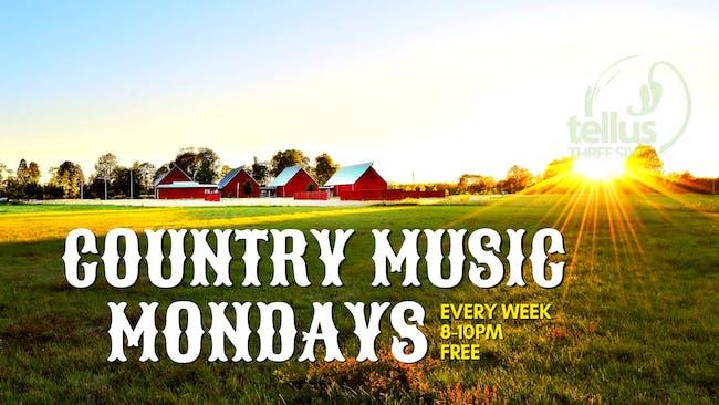 Country Music Monday w/ Stu Huggens & The Black Hats
