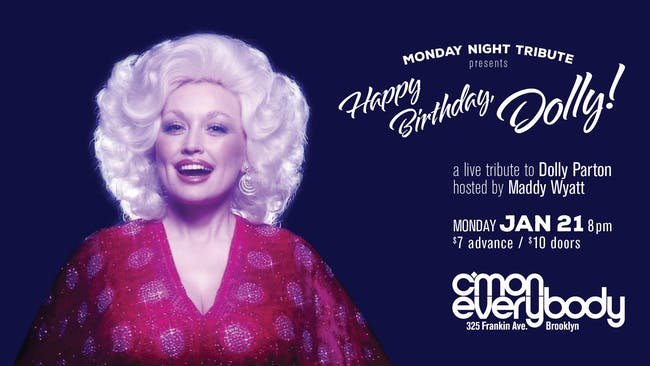 Happy Birthday, Dolly!