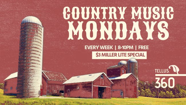 Country Music Monday w/ David Rosales & His Band of Scoundrels