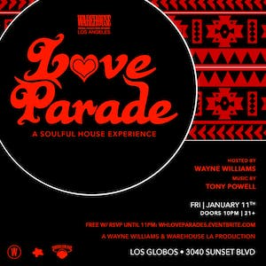 "Love Parade ""A Soulful House Experience"""
