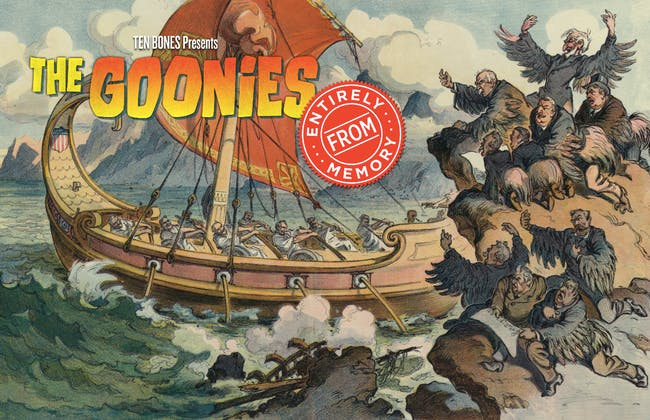 Goonies Entirely From Memory