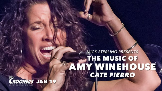 The Music of Amy Winehouse featuring Cate Fierro