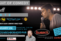 An Evening of Comedy with Brett Forte LIVE at Bambino's Neighbourhood Pub