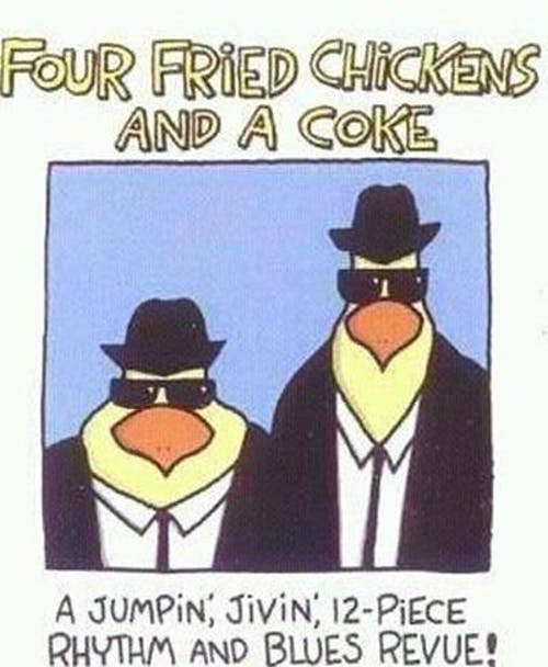 4 Fried Chickens & A Coke