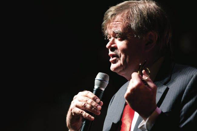 Garrison Keillor with Richard Dworsky and Christine DiGiallonardo