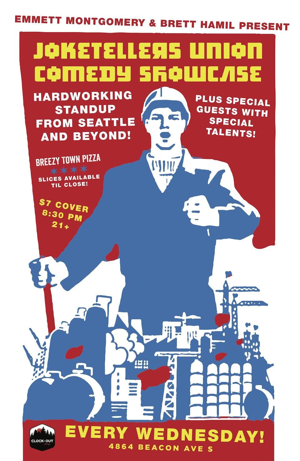 Joketellers Union Comedy Showcase