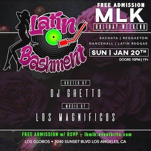 FREE Admission - Latin BashMent - Sonido Latino Domingos