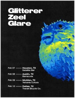 Glitterer • Zeel • Glare • Dead Words