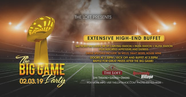The Ultimate Big Game Party!