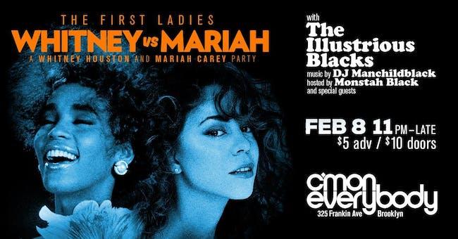 Whitney vs. Mariah: A Whitney Houston and Mariah Carey Party