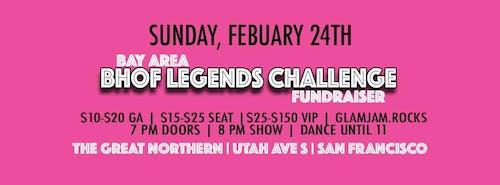 2019 Bay Area BHoF Legends Challenge Fundraiser