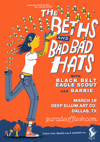 NSFWknd: The Beths • Bad Bad Hats • Black Belt Eagle Scout • Barrie